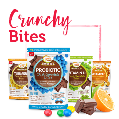 Healthy Delights Crunchy Bites Vitamins and Supplements